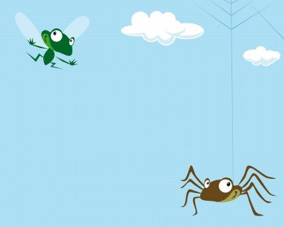 spider and fly children's poem
